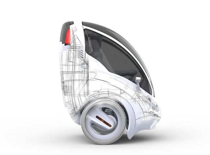 Two-Wheeled Electric Vehicle To Zip Through City Streets