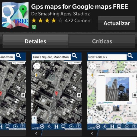 [ACT] - GPS Maps for Google Maps FREE v.1.0.0.200