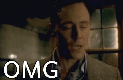 OMG! (gif) repinning because Tom and because this is my all time favorite gif!! I love it when he loses his shit!!!