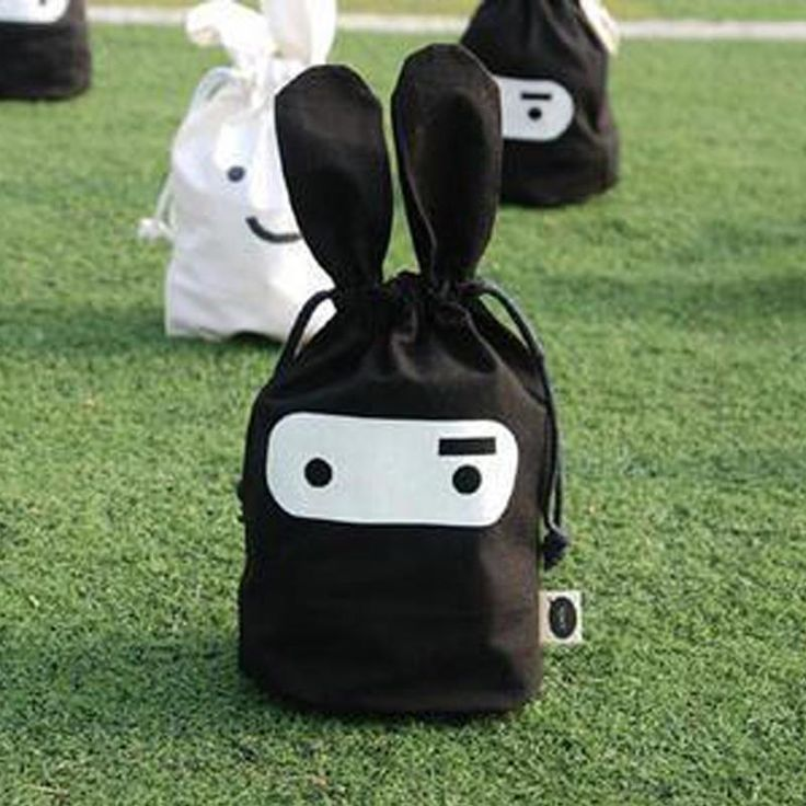 [Visit to Buy] cute Rabbit cloth pouch beam port pouch debris bags daily sorting bags Outdoor Beach Clothing Shoes Towel Storage Bag #Advertisement