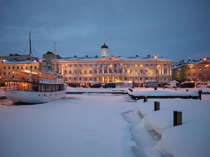 Kaupungintalo & Kolera-allas, Helsinki - Finland