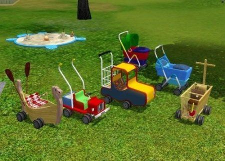 Carriages for Sims 3 Generations