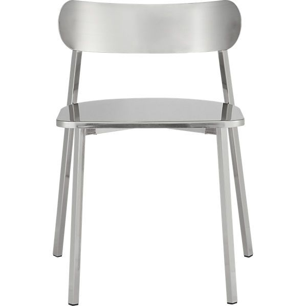 Unique Brushed Nickel Counter Stools