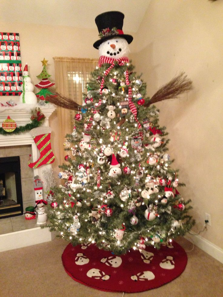 Snowman Christmas Tree Holidays Christmas Christmas
