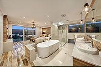 #Mastersuite design seen in The Sunset Cove Display Home by #VenturaHomes.