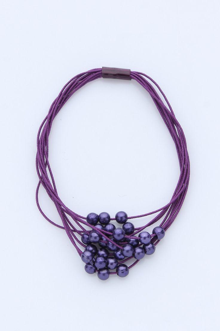 La Boum Резинка для волос 606010-2 Цвет: фиолетовый на Club-Sale.ru > CLUB-SALE.RU - магазин брендовой мужской и женской одежды, распродажа модной женской и мужской дизайнерской одежды