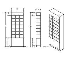 "Ball Cap Wall Cabinet   Baseball Hat Display Wall Fixture - Creative Store Solutions - Cap Box Dimension: 9"" W x 8"" H x 13"" D"