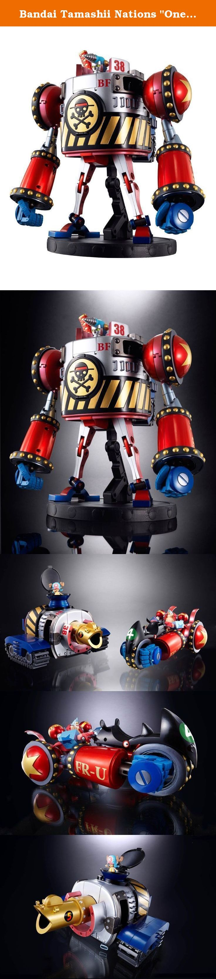 "Bandai Tamashii Nations ""One Piece"" Chogokin General Franky Action Figure. - Figurine One Piece Figuarts Zero GX-63 General Franky - Robot GX-23 du Général Franky - Taille 23cm ."