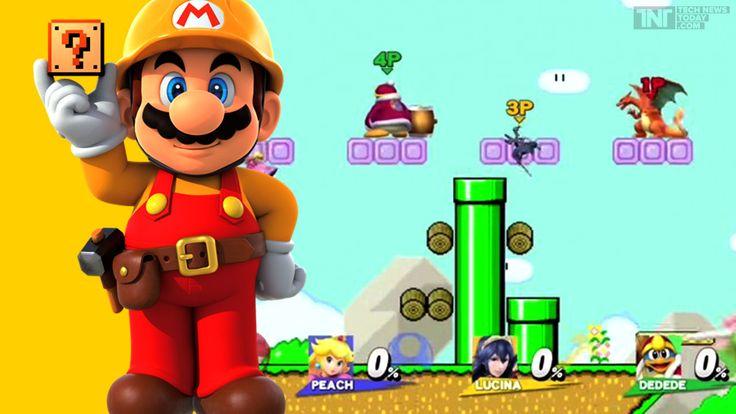 Super Smash Bros. Gets A Bizarre Mario Maker Stage
