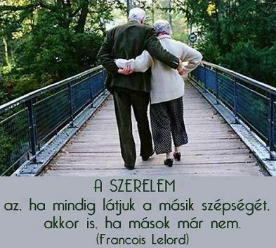 Francois Lelord, francia pszichiáter és író definíciója a szerelemről. A kép forrása: Az élet igazságai # Facebook