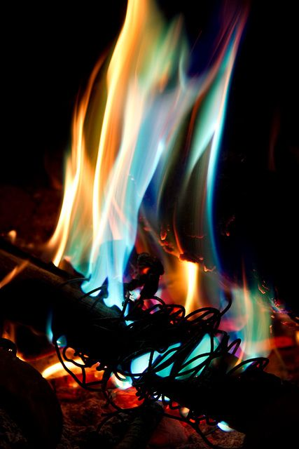"""""""We didn't start the fire. It was always burning, since the world was turning..."""" ~Billy Joel"""
