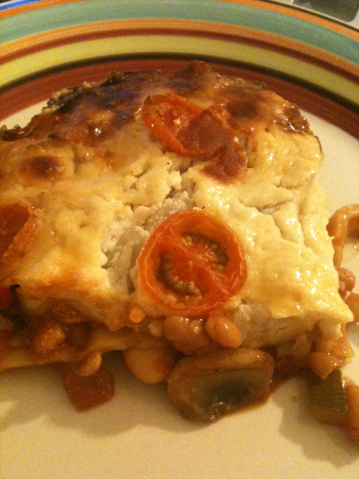 Slimming World Baked Bean Lasagne :)