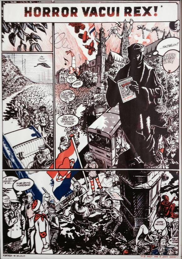 Peter Pontiac - affiche voor de Haarlemse Stripdagen, 1994.