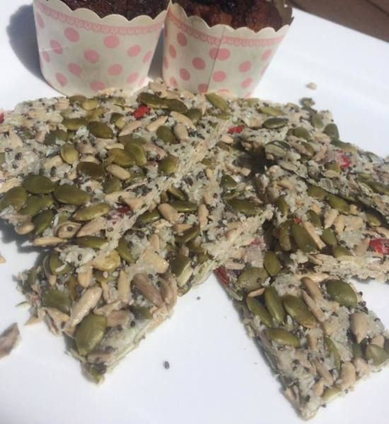 Super Easy Seed Bars - snacks for the office or the playground