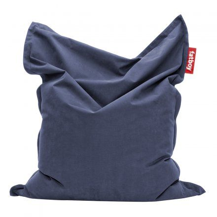 Sitzsack The Original stonewashed blue blau Styropor, 100% Baumwolle