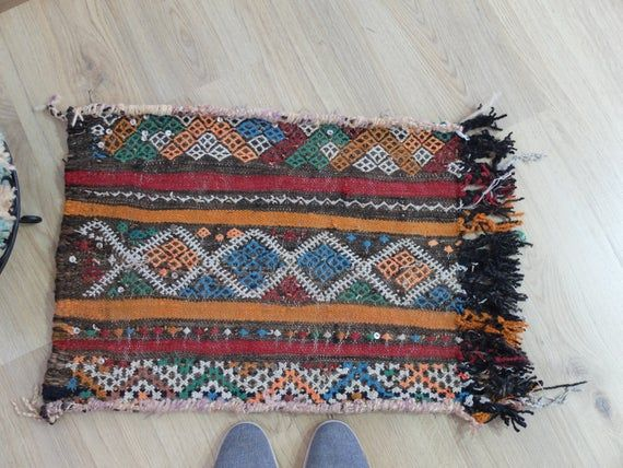 23 X 17 Inches Very Small Rug Moroccan