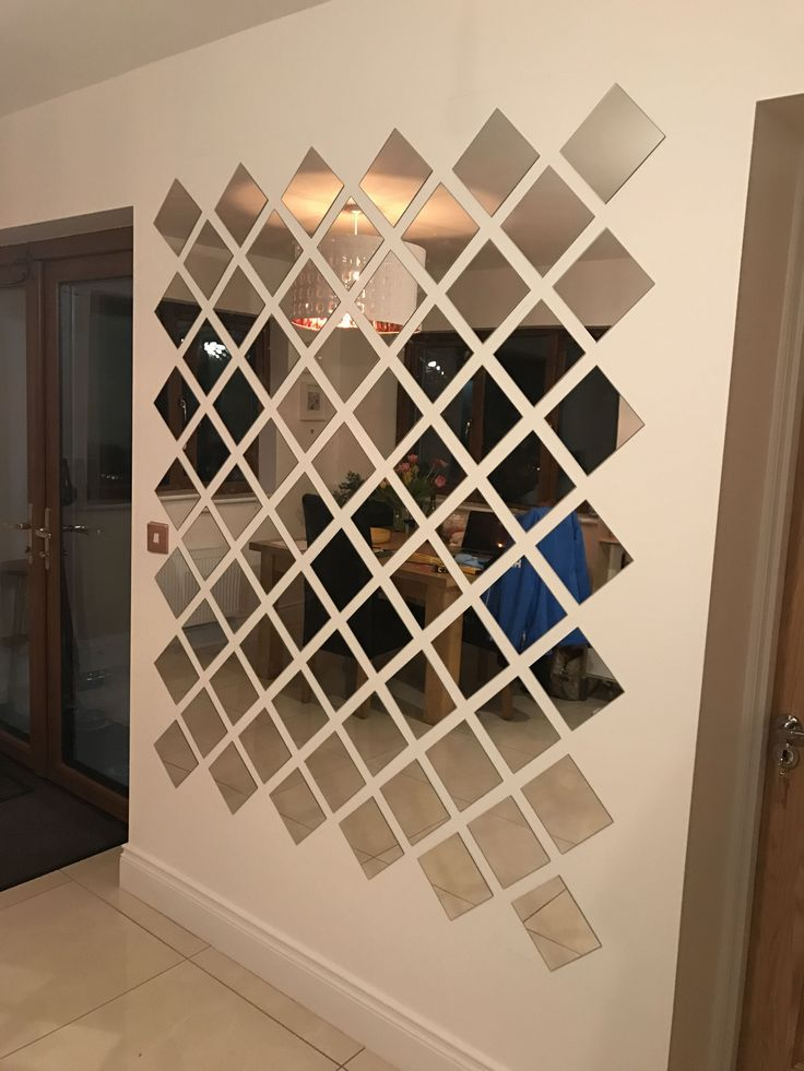 15+ Elegant Wall Mirror Collage Ideas – #abovecouc…