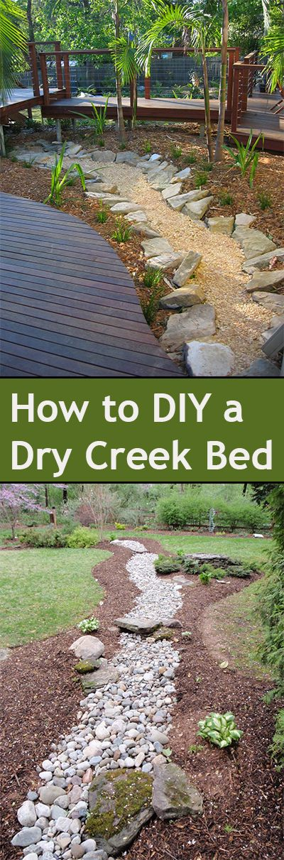 Drainage Ideas For Backyard this would be great for the area in the back yard that is always floaded yard drainagedrainage ideasdrainage solutionsbackyard Diy Dry Creek Bed Designs And Projects