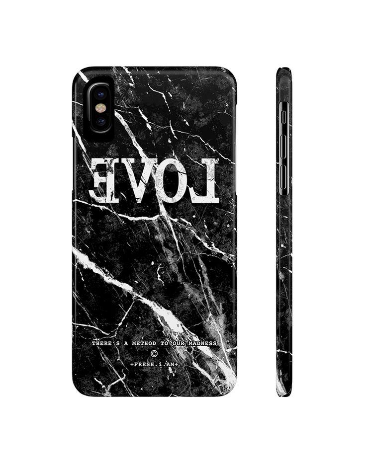 EVOL BLACK MARBLE iPhone X case