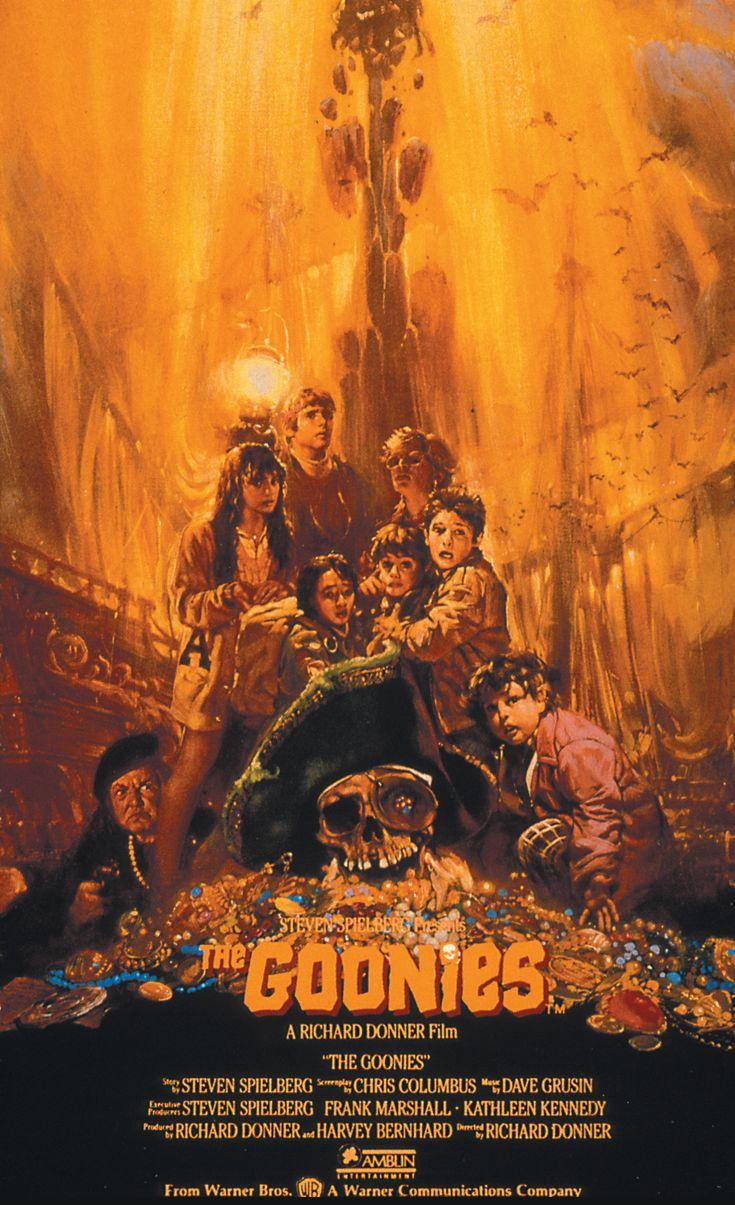 The Goonies (1985) Sean Astin, Josh Brolin, Jeff Cohen, Corey Feldman, Kerri Green, Martha Plimpton, Jonathan Ke Quan.