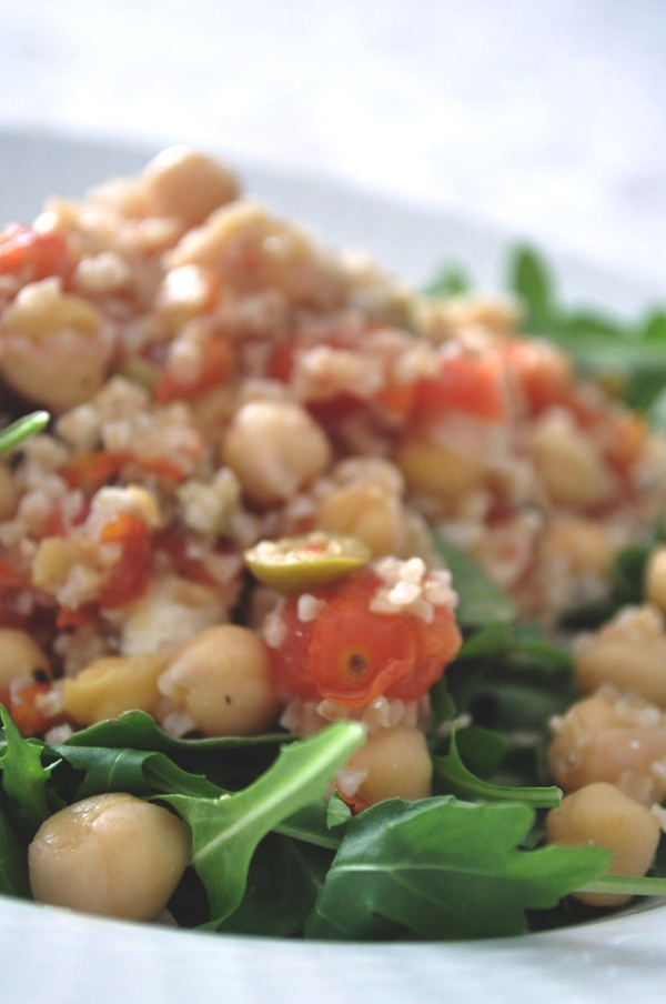 Bulgur, Warm and Arugula salad on Pinterest