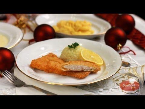 Rántott hal, majonézes krumpli saláta, rizs - Karácsonyi menü - SegitunkFozni.hu - YouTube