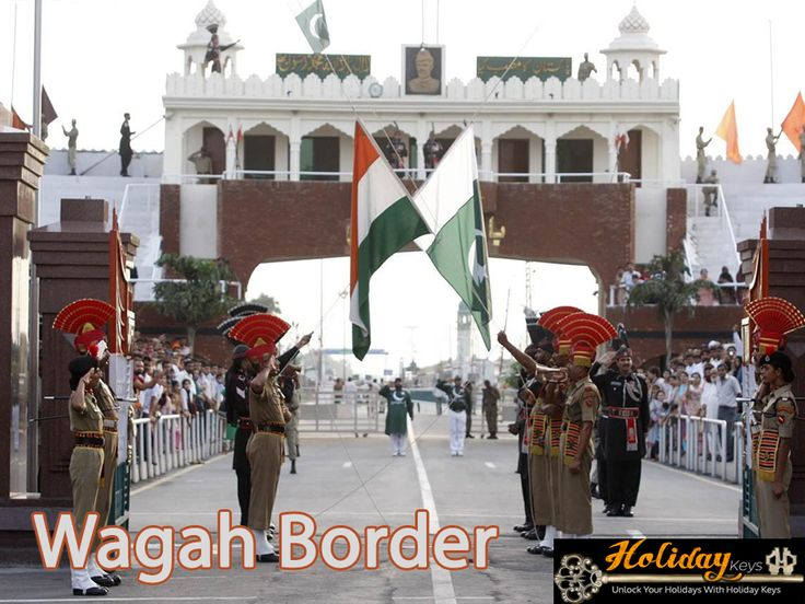 After, it moves to #WagahBorder to see the Beating Retreat ceremony. It is a daily military practice of the Indian security forces (Border Security Force) and Pakistan (Pakistan Rangers) jointly followed since 1959. The ceremony takes place every evening before sunset at the Wagah border, which as part of the Grand Trunk Road was the only road link between these two countries before the opening of the Aman Setu in Kashmir in 1999…