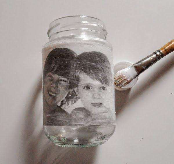 Técnicas decorativas: Cómo hacer transfer en cristal