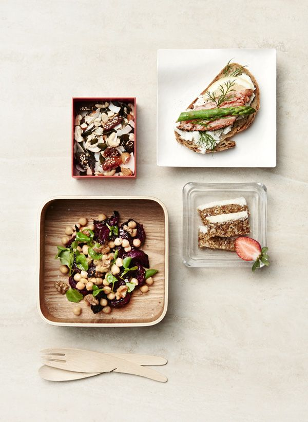 Cassie's decidedly decadent 'Ladies Lunchbox'. Photo – Eve Wilson, styling - Lucy Feagins, styling assistant – Nat Turnbull on thedesignfiles.net