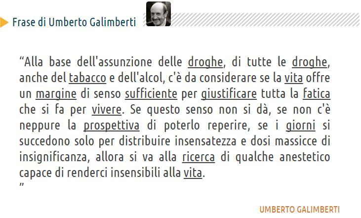 Umberto Galimberti - Droga Vita Alcool