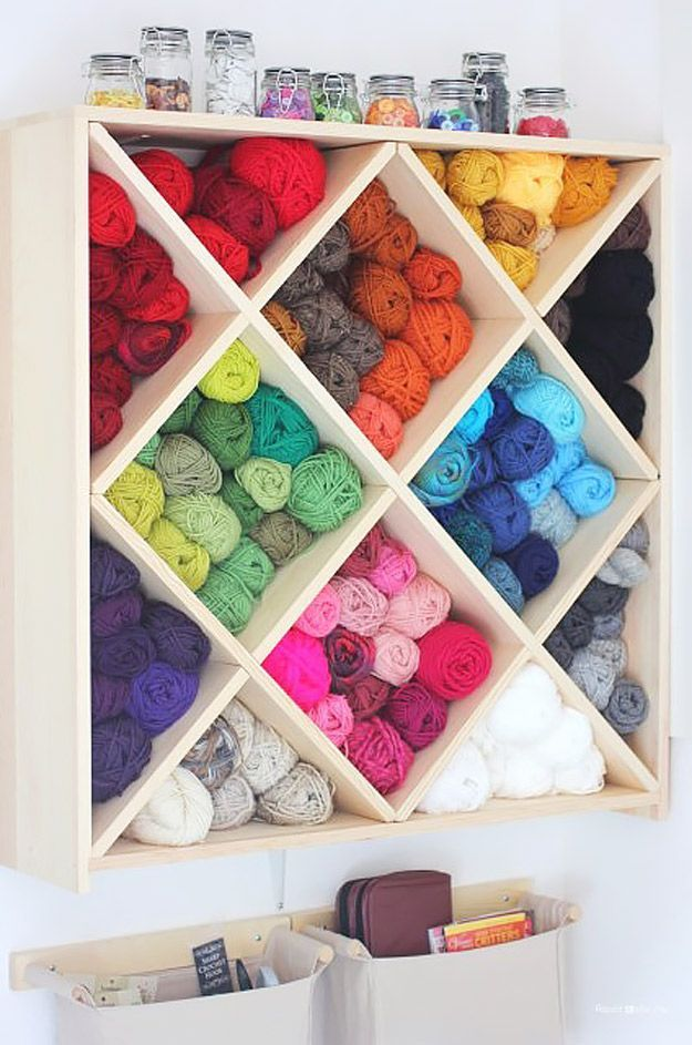 Adorable 30 do it yourself storage ideas decorating inspiration do it yourself storage ideas best 25 sewing room storage ideas only on pinterest solutioingenieria Gallery