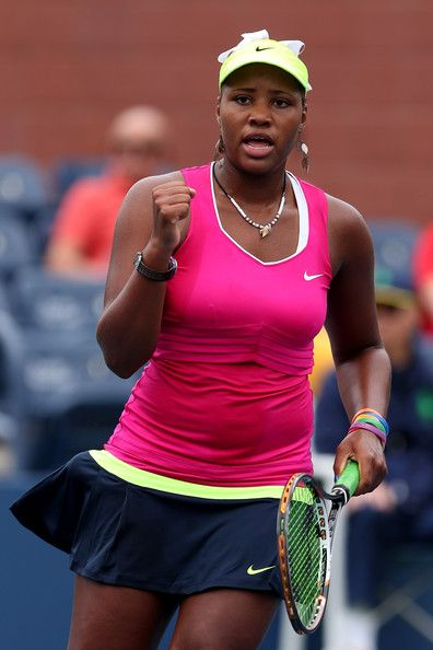 Taylor Townsend tennis | Taylor Townsend Taylor Townsend of the United States plays during Day ...