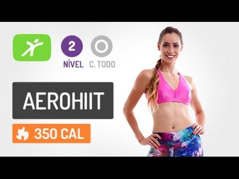 Perder Medidas e Definir o Corpo com nossa Aula de AeroHiit #5 - Intermediário - YouTube