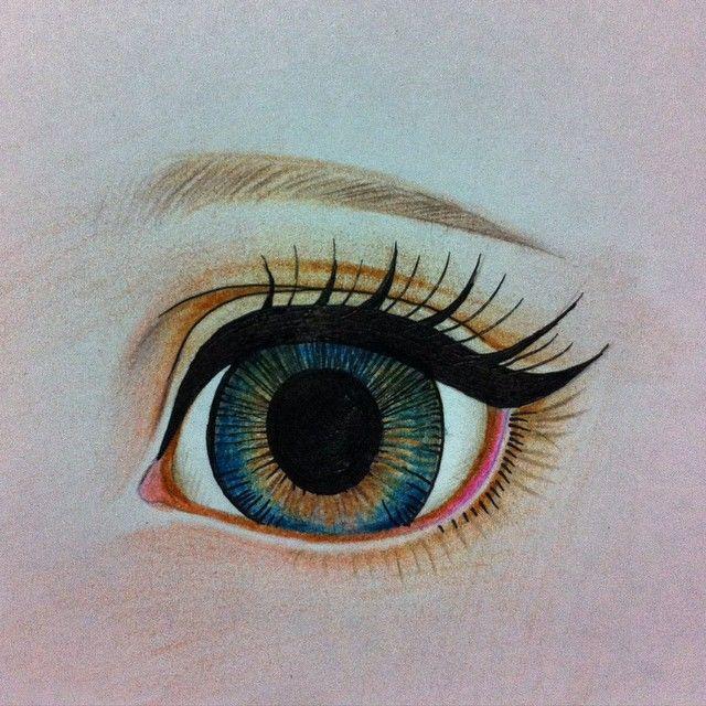 "24 Likes, 2 Comments - bunnybear(곰토끼) (@bunnybeardolls) on Instagram: ""Study (repainting dolls) #eye"""