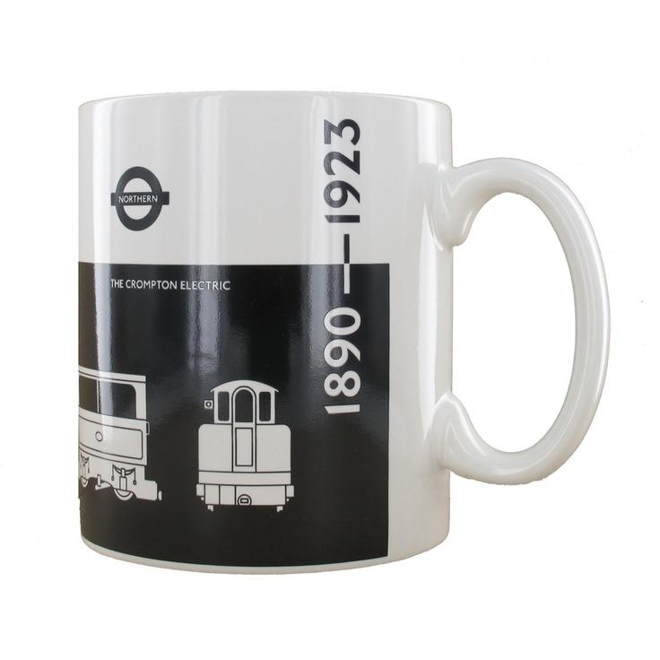 1890 1923 NorthernLine Mug The 400 best London