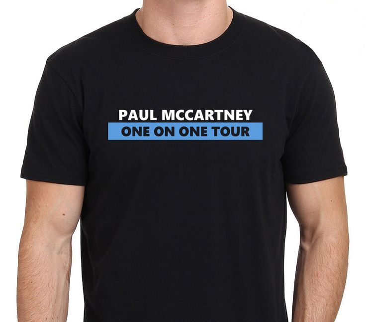 >> Click to Buy <<  Paul McCartney ONE ON ONE Tour 2016 Men's T-Shirt 100% Cotton T Shirts Man's Clothes T-shirts #Affiliate