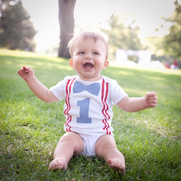 First Birthday in the Park by Kellie Coughlin