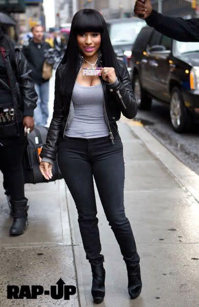 Nicki Minaj Inspired China Bang Quick Weave Wig No Lace