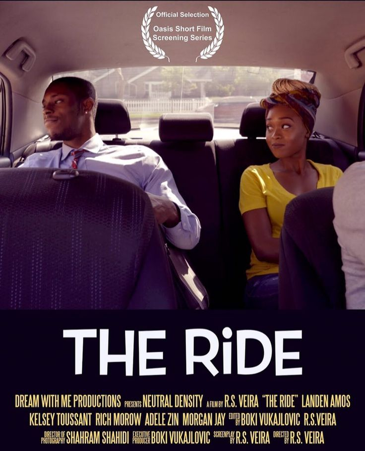 My short film The Ride was an Official Selection of the Oasis Short Film Screening Series. A festival showcasing the best short films of the month. Congrats and Thank You to the cast and crew who brought my vision to life.  (Link to film in bio)...... #DreamWithMe #Director #Writer #Author #Dreamer #LA #Film #Shortfilm #filmfestival #RomCom #Love #Uber #LifeIsEnjoyedByTheBold