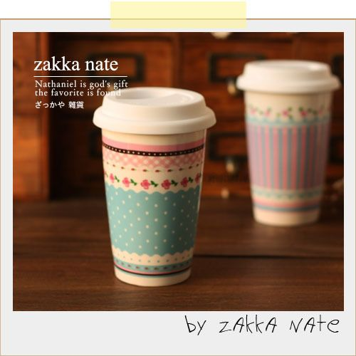 Free Shipping 10 PCS/Lot Zakka cute ceramic cup double layer cup with lid insulated glass rustic on Aliexpress.com