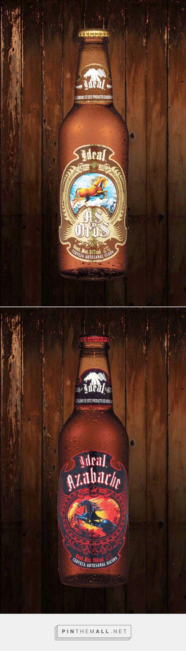 Cerveza Ideal via BLOGgraphic. Se viene una nueva cerveza mexicana, próximamente saldrá al mercado, su nombre, la Cerveza Ideal de la mano de Grupo Modelo. Las etiquetas fueron creadas por el ilustrador mexicano Rafael Sánchez de Icaza.