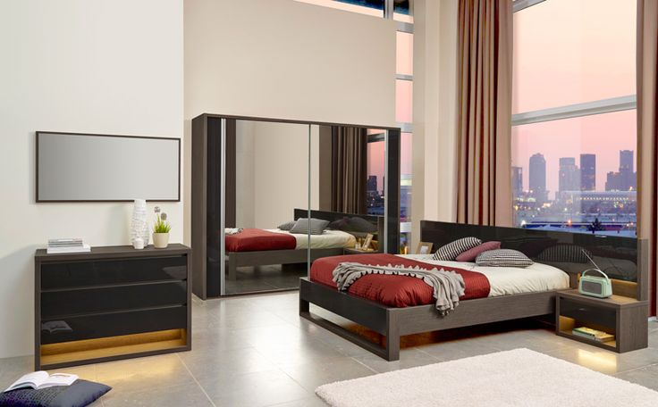 kolma une belle chambre coucher c 39 est kolma finition en d cor ch ne fonc avec accents en. Black Bedroom Furniture Sets. Home Design Ideas