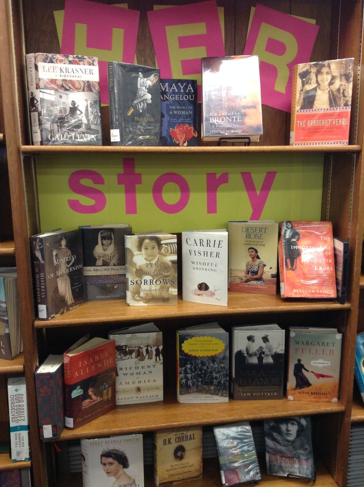 Quot Her Story Quot Display For Women S History Month At Aspen