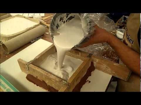"In this demo OCC instructor Alan Paulson is showing how to make a plaster mold for mass producing ceramic pieces. The demo shows a mold being made for a 6""x6..."