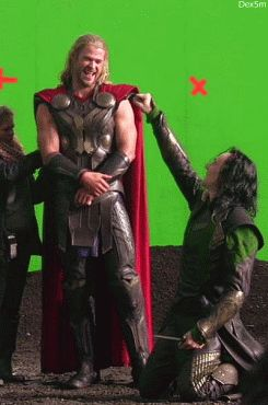 Loki's kneeling arm span is as long as Thor. Good God. |  He's actually a velociraptor, and don't they fly? Or maybe that's a pteranodon I'm thinking of. LOL duh.