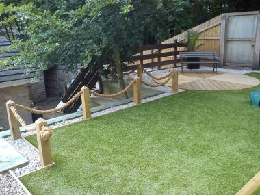Best Beautiful Gardens And Decking Featuring Rope Images On - Garden decking rope