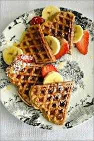Sweet my Kitchen: Waffles de banana sem gluten