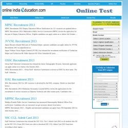 Online Exams Portal in India which provides online test series , mock test paper for the candidates.