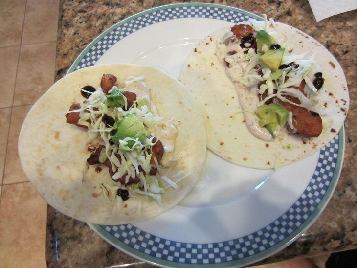 Baja sauce for fish tacos my favorite dips sauces for Fish taco sauce recipe