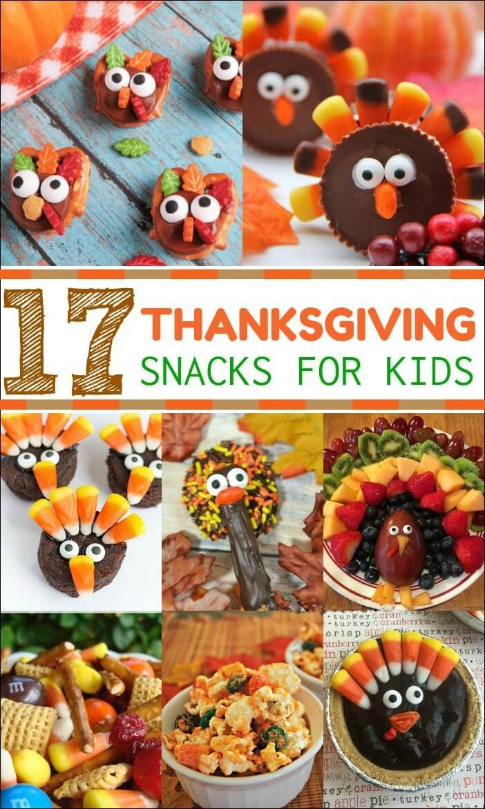 Get the kids involved in Thanksgiving festivities with these Thanksgiving Snacks for Kids. Perfect for a classroom party or for the big day!